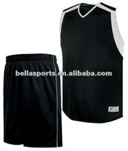 100% Polyester Mesh/Interlock Basketball Uniform
