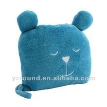 Undercover Bear Travel Pillow & Blanket ocean