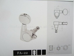 FA-22 TL guitar tuner with chrome finished