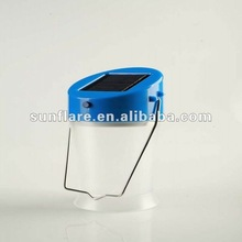 2012 newly designed quality solar camping lamps with super bright led & phone charger
