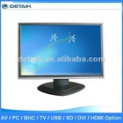 22 '' LCD TV touch monitor / lcd tv digital, Fashion TV kiosk touch screen monitor