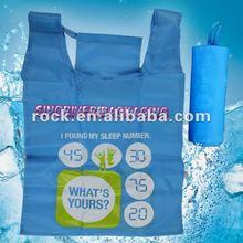190T suprior quality nylon polyster recycle foldable nylon eco bag