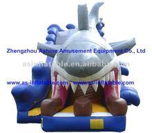 2012 hottest hottest amusement park dragon inflatable castle slide