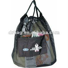 Nylon Drawstring Mesh Tote bag