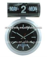 auto flip calendar wall clock