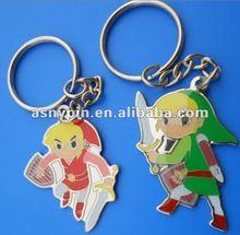 2012 Warrior metal Key Chain Cartoon metal keychain