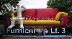 inflatable advertising outdoor furniture, inflatable giant sofa