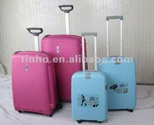 2012 Fashion design PP trolley case,luggage case