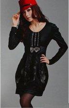 2012 fashion magic curve collect waist women's dress