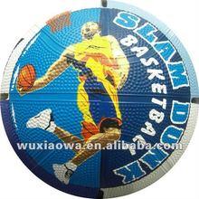 International standard size basketball/ official basketball weight/ official rubber balls (RB065)