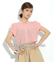 2012 popular women chiffon lighter shirts