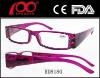 Hot sale fashion plastic LED reading glasses Reading glasses with light Prescription glasses for Unisex