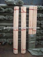 Eco-friendly round wood poles