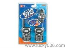 Spy Kit Interphone Spy Watch brinquedo