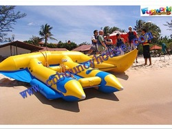 Newest design Inflatable flyfish tube,flyfish banana boat(Wat-498)