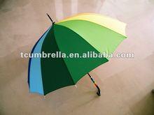 2012 new design 14 color rainbow umbrella