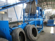 2012 newest waste management for waste tyres