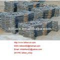 2012 china fabrico martelado aço varanda elementos