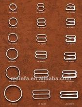 Gold plated bra ring/slider/hook