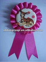 2012 New Satin Ribbon Badge