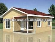 Easy assembled house plans (certified by CE,B.V.,CSA,AS)
