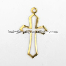 cooper bijou sequins pendant with crucifix