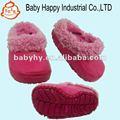 子供は6か月から赤ん坊5年ののための冬のサンダルを暖める