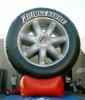 Giant 20ft Bridgestone Tire for advertising