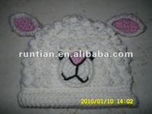 Baby crochet Animal Cap