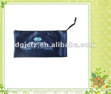 logo printed microfiber sunglasses bag