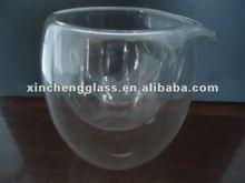 pyrex heat resistant glass teapot set