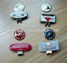 custom style golf cap clip ball markers