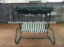 2012 newest metal garden rocking chair