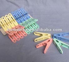 16pcs small plastic pegs,small peg