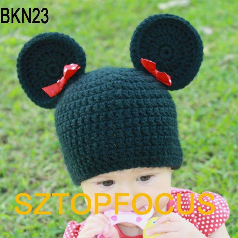 precioso animal en forma de baby crochet gorros-Sombreros y Gorras
