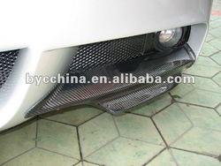 Carbon Fiber Front Wrap Lip Splitter, Carbon Fiber Accessory for BMW E90-325I, MS Style