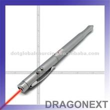 Wholesale 4 In 1 Red Laser Teach Pointer Pen PDA Stylus Led Light