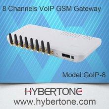 8 channels goip gsm gateway