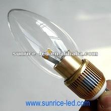2012 newest E17 COB candle light 5W