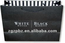 Environmental kraft packaging paper bag