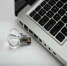 2012 hot sell key usb memory promotional gift bulb sahpe flash memory 1gb/2gb/4gb/8gb/16gb