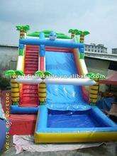inflatable water slide 2012 new arrivel water slide inflatable water toys infaltable water games inflatable water slide