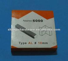 frame Staples v-nails v-nail v nails Fasteners, AL style Alfamacchine Minigraf 10mm Sharp Grind for soft wood PS moulding