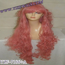 hottest style synthetic wig for 2012 Halloween, party