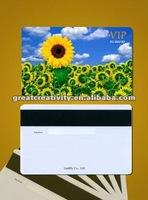 PVC discount shopping voucher card
