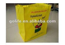 Reusable Non woven Shopping Button bags,Eco Friendly Nonwoven bags For Promotion,Eco Friendly Non-woven Package bags