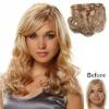 top quality belle russian hair 3/4 full head clip hair extension