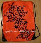 2012 High quality sport mesh drawstring bag backpack