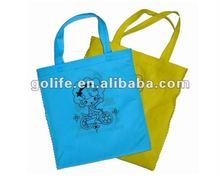 Chinese cang nan eco-friendly non woven bags,colourful eco-friendly non woven bags,Natural Recycled Nonwoven Shopping bags