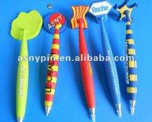Soft PVC magnetic promotional logo pens